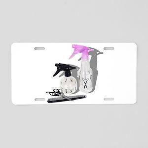 HaircutSprayBottle060910Sha Aluminum License Plate