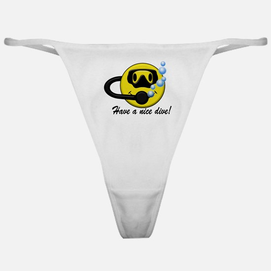 Have A Nice Dive Classic Thong