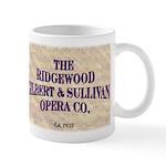 Ridgewood G&S logo Mug