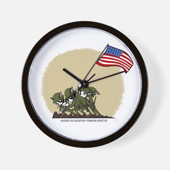 Boston Iwojima Wall Clock