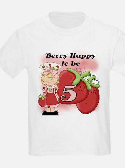 (Blond) Berry 5th Birthday T-Shirt