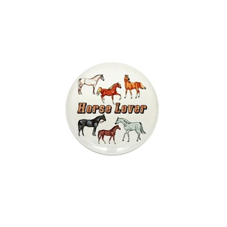 Horse Lover Mini Button