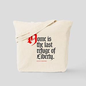 Last refuge Tote Bag