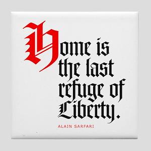 Last refuge Tile Coaster