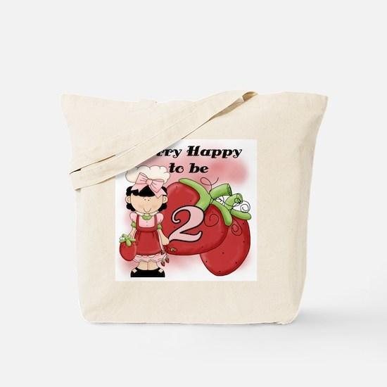 (Black) Berry 2nd Birthday Tote Bag