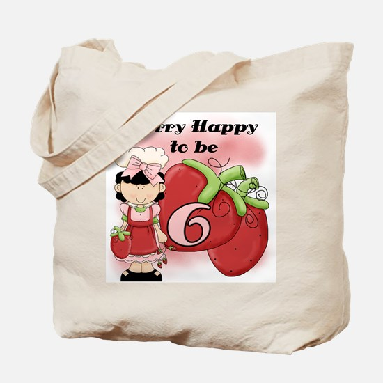 (Black) Berry 6th Birthday Tote Bag