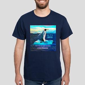 Star Antarctic S. America 1-17-2010 - Dark T-Shirt