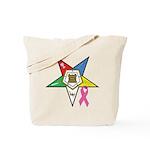 Teardrop OES BC Awareness Tote Bag