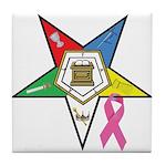 Teardrop OES BC Awareness Tile Coaster