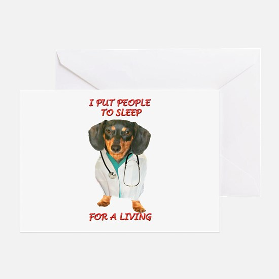 Anesthesiologist Greeting Card