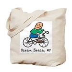 Ocean Beach, NY Tote Bag