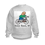Ocean Beach, NY Kids Sweatshirt