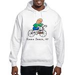 Ocean Beach, NY Hooded Sweatshirt
