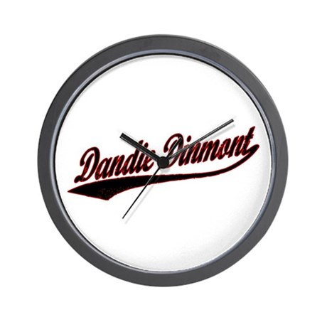 Dandie Dinmont Varsity Wall Clock