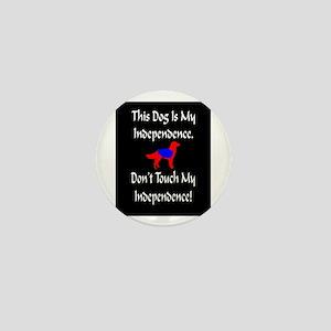 Service Dogs Mini Button