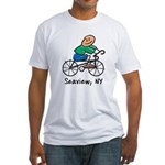 Seaview, N.Y. Fitted T-Shirt