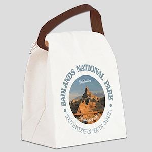 Badlands NP Canvas Lunch Bag