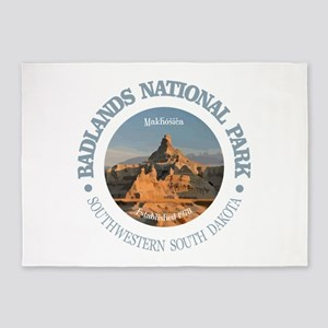 Badlands NP 5'x7'Area Rug