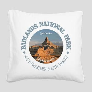 Badlands NP Square Canvas Pillow