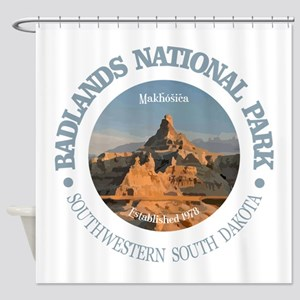 Badlands NP Shower Curtain