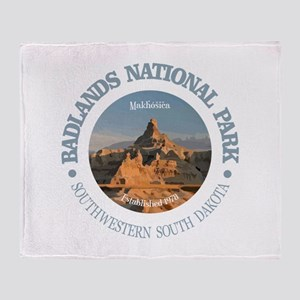Badlands NP Throw Blanket