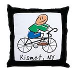 Kismet, N.Y. Throw Pillow