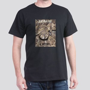 Beware: I Bite Black T-Shirt