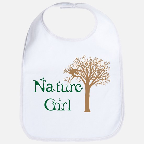 Nature Girl Butterfly Bib