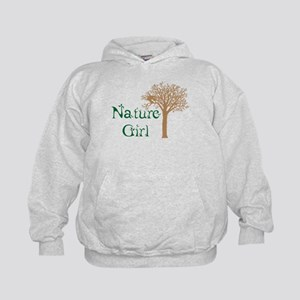 Nature Girl Butterfly Kids Hoodie