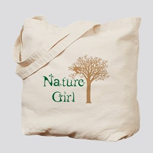 Nature Girl Butterfly Tote Bag