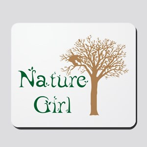 Nature Girl Butterfly Mousepad