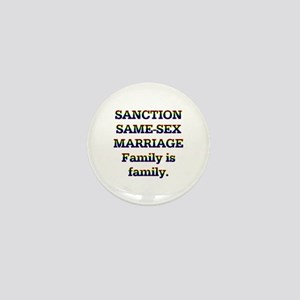 Family is Family Mini Button
