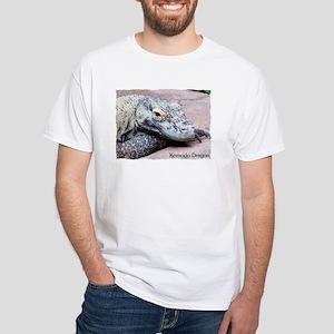 Komodo Dragon White T-Shirt