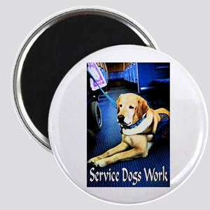 Service Dogs Magnet