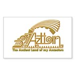 Aztlan Soul Rectangle Sticker 50 pk)