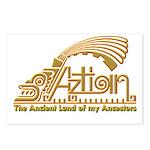 Aztlan Soul Postcards (Package of 8)