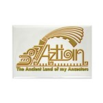 Aztlan Soul Rectangle Magnet (100 pack)