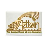 Aztlan Soul Rectangle Magnet