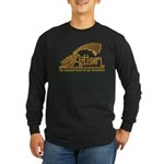 Aztlan Soul Long Sleeve Dark T-Shirt