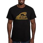 Aztlan Soul Men's Fitted T-Shirt (dark)