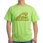Aztlan Soul Green T-Shirt