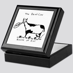 Devil Cow Keepsake Box