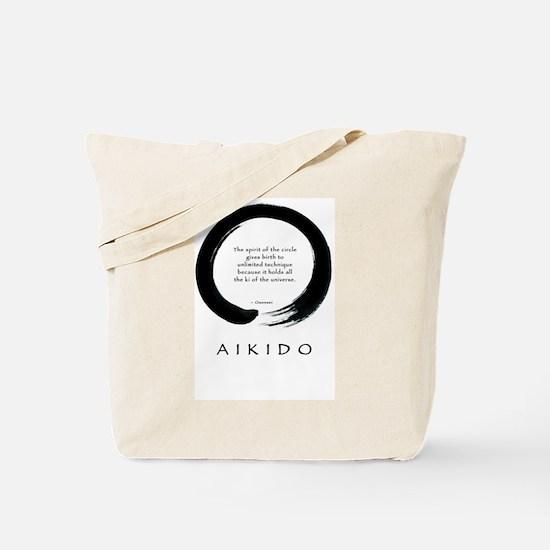 Funny Aikido Tote Bag