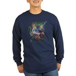 Tigerman Long Sleeve Dark T-Shirt