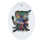 Tigerman Oval Ornament