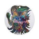 Tigerman Ornament (Round)