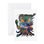 Tigerman Greeting Cards (Pk of 10)