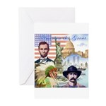 America the Great Greeting Cards (Pk of 20)