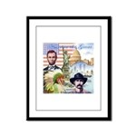 America the Great Framed Panel Print
