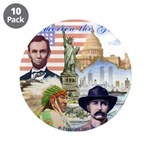 """America the Great 3.5"""" Button (10 pack)"""